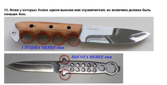 Какое оружие можно носить с собой для самообороны (11 фото)