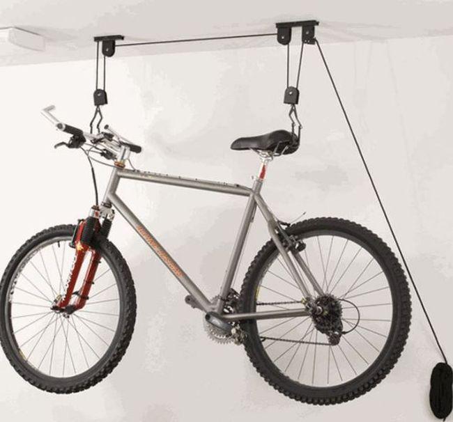 """Как """"расположить"""" велосипед в хрущевке (6 фото)"""