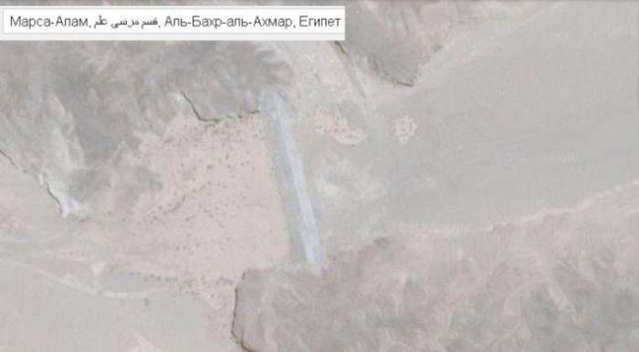 Плотины на пересохших реках африканской пустыни (6 фото)