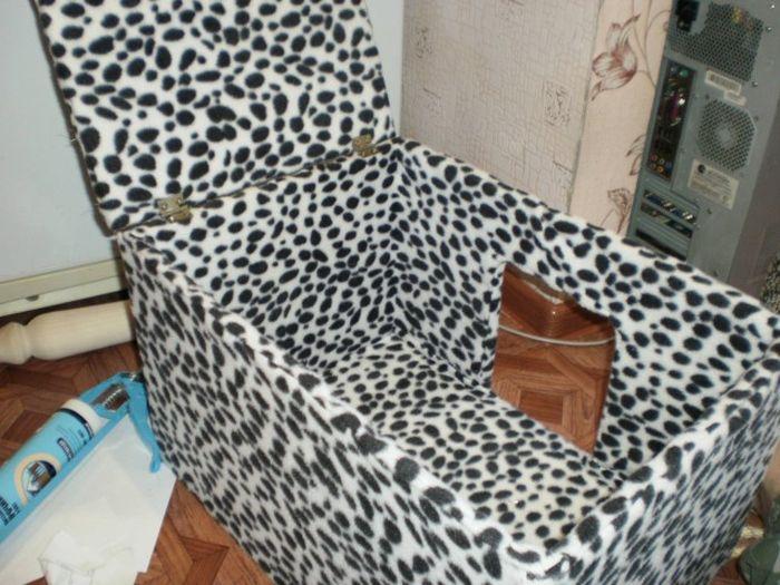 Делаем домик для кота своими руками (28 фото)