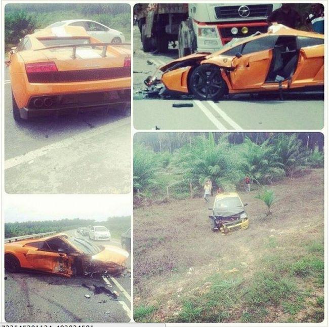 1 из 20 эксклюзивных Lamborghini Gallardo был разбит вдребезги (4 фото)