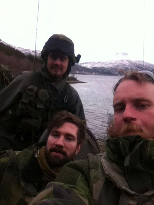 Селфи военных на учениях в Норвегии (50 фото)