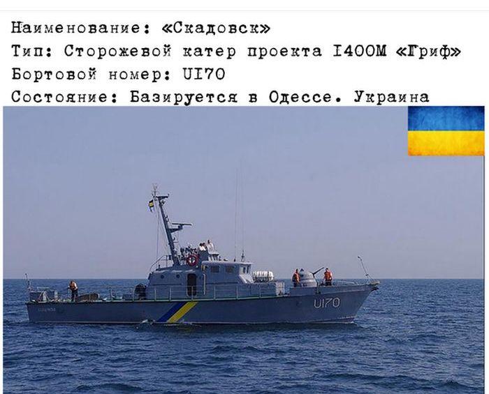 Военно-морские силы Украины (12 фото)