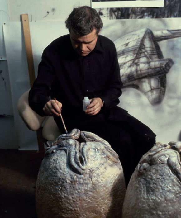 """Как создавался образ пришельцев для кинофильма """"Чужой"""" (12 фото)"""