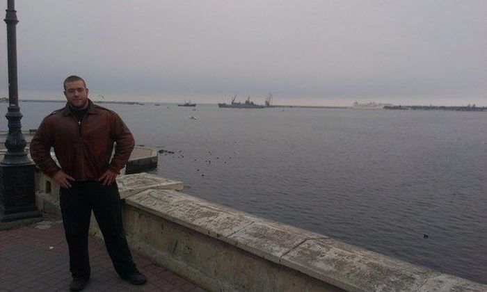 Михаил Федоров - 17-летний богатырь из Севастополя (13 фото)