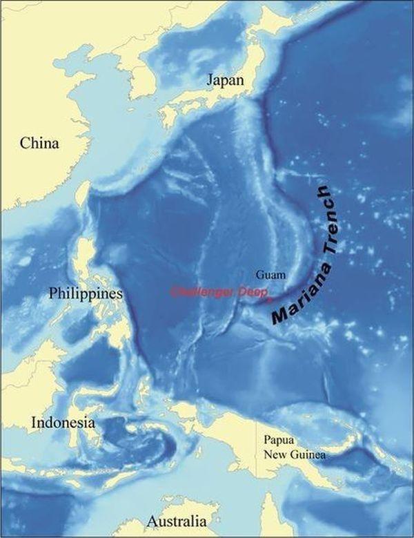 Факты о таинственной Марианской впадине (25 фото)