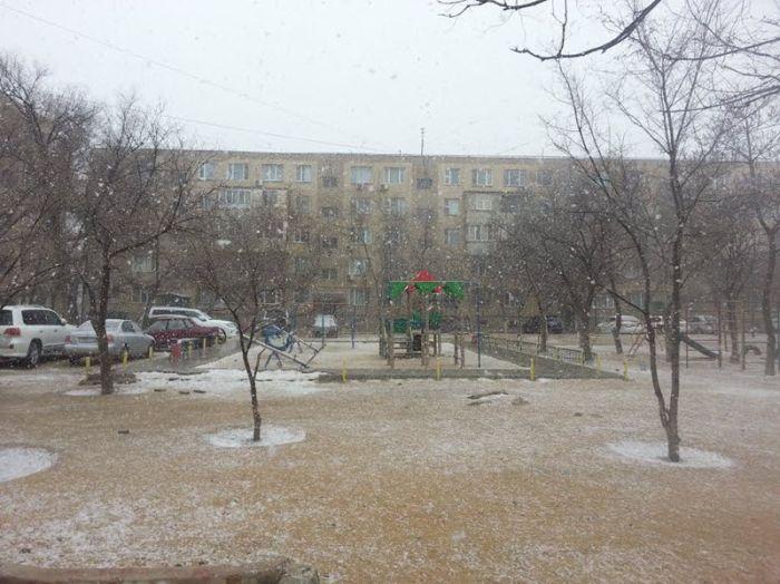В конце марта Россию завалило снегом (41 фото)