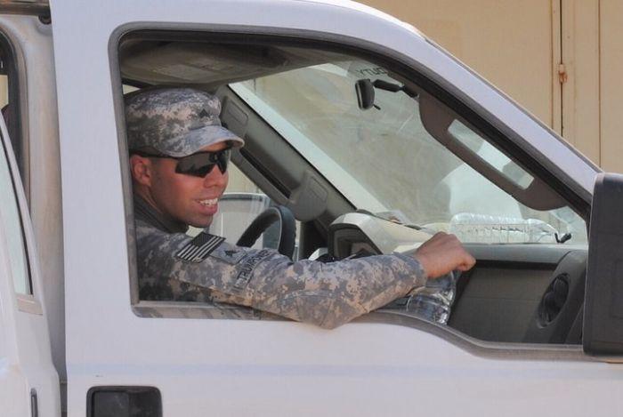 Служба в Ираке глазами американского солдата (75 фото)