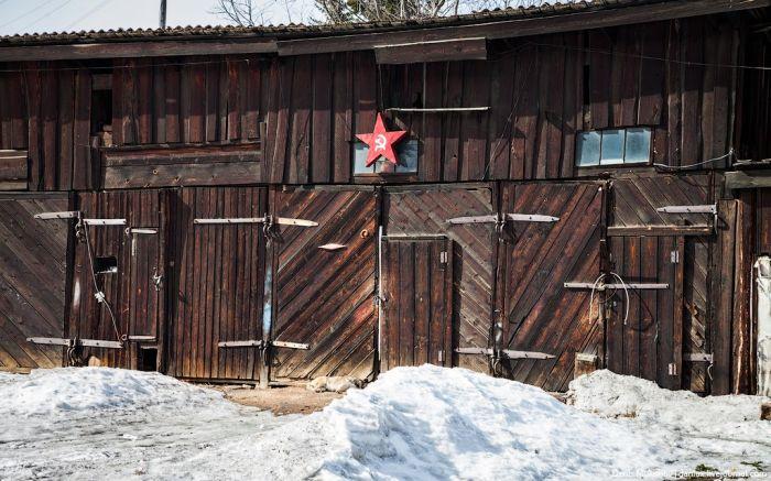 """Суровая жизнь в поселке """"Коммунар"""" (24 фото)"""