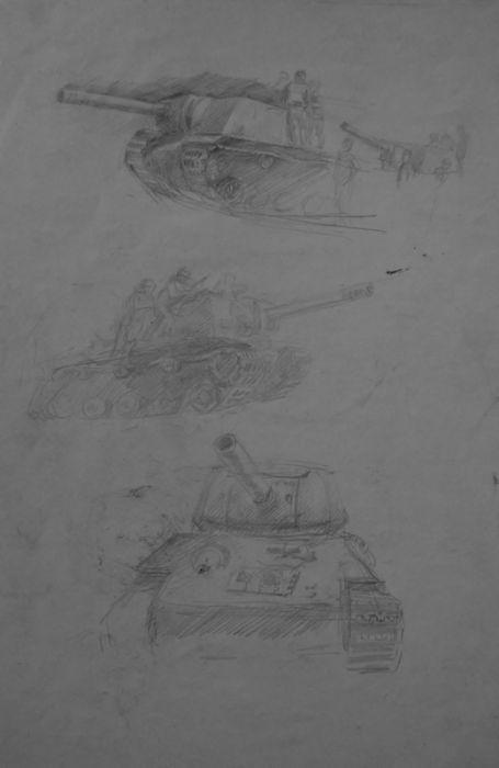 Фронтовой блокнот русского солдата (12 фото)