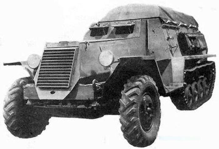 Подвиг танковой разведки СССР (3 фото + текст)