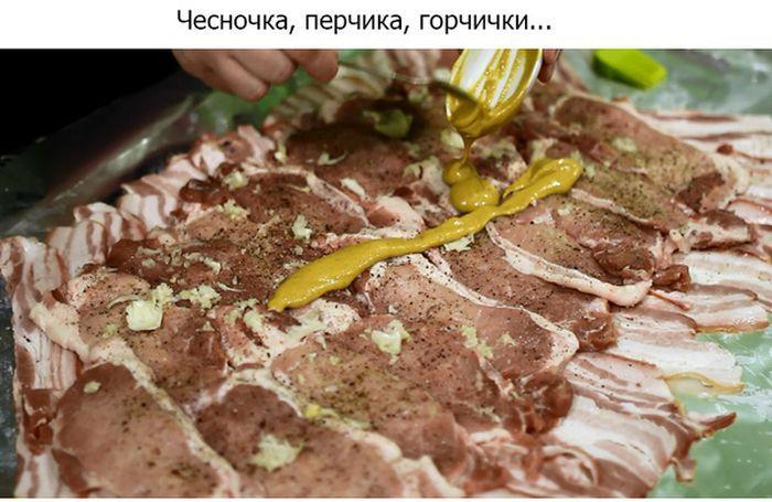 Необычный мясной рулет (31 фото)