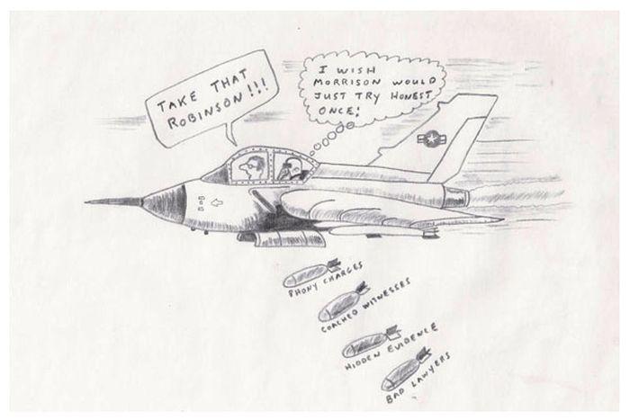 Рисунки самых жестоких убийц в истории (10 фото)