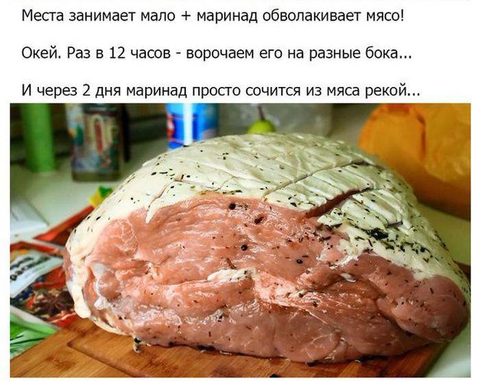 Угощение для гостей из свиного окорока (32 фото)