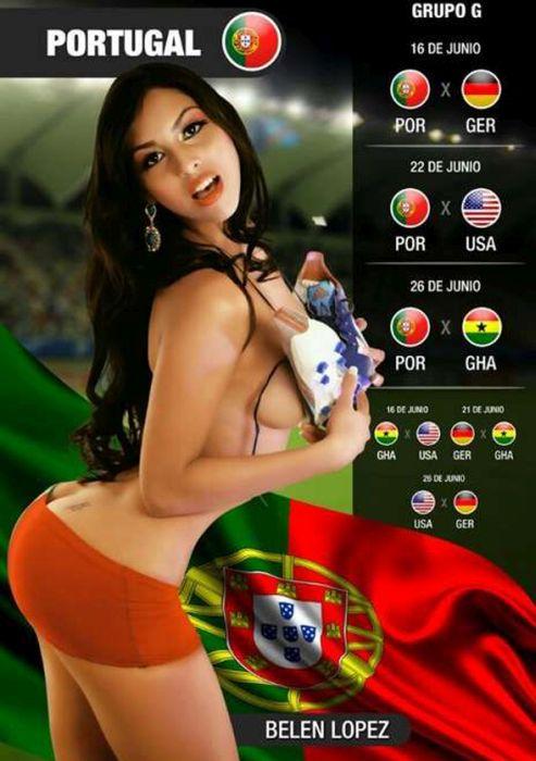 Эротический календарь чемпионата мира по футболу 2014 (30 фото)