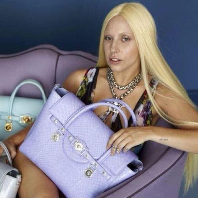 Леди Гага до и после обработки снимков (9 фото)