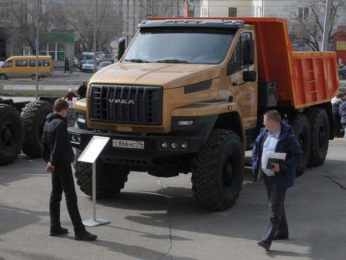 """Современный дизайн нового грузовика """"Урал-NEXT"""" (5 фото)"""