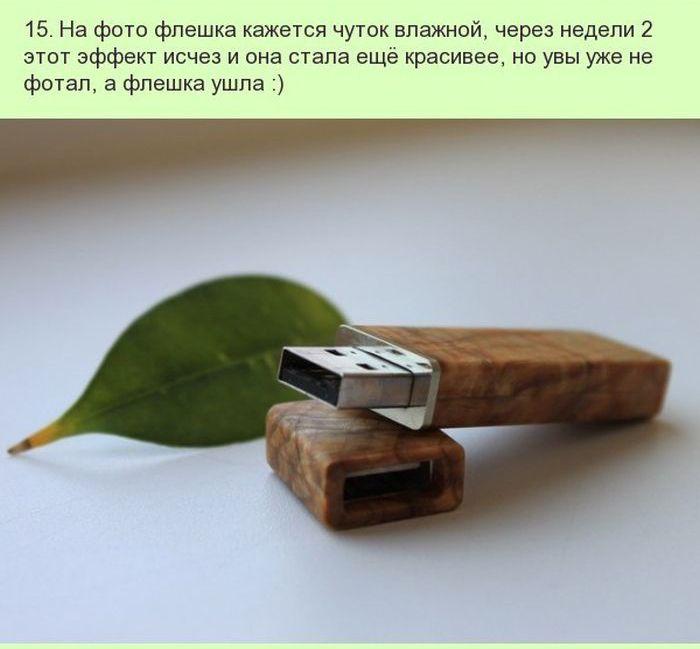 Необычная USB-флешка из дерева своими руками (18 фото)