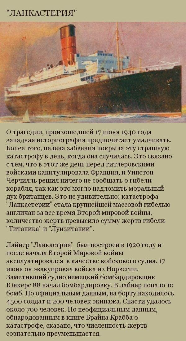 Крупнейшие кораблекрушения в истории человечества (9 фото)