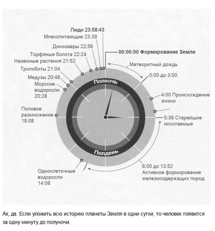 Факты, меняющие наше восприятие времени (16 фото)