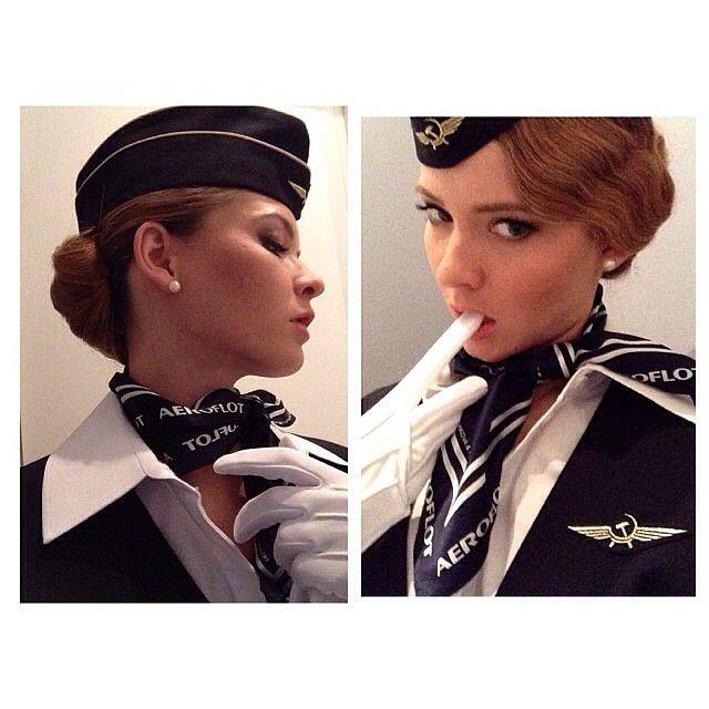 Привлекательные русские стюардессы (64 фото)