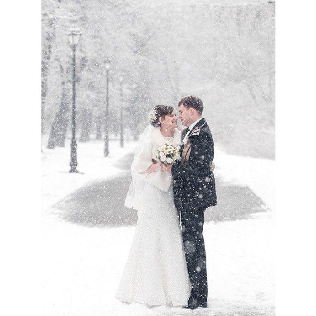 Весенний снегопад в Екатеринбурге (23 фото)