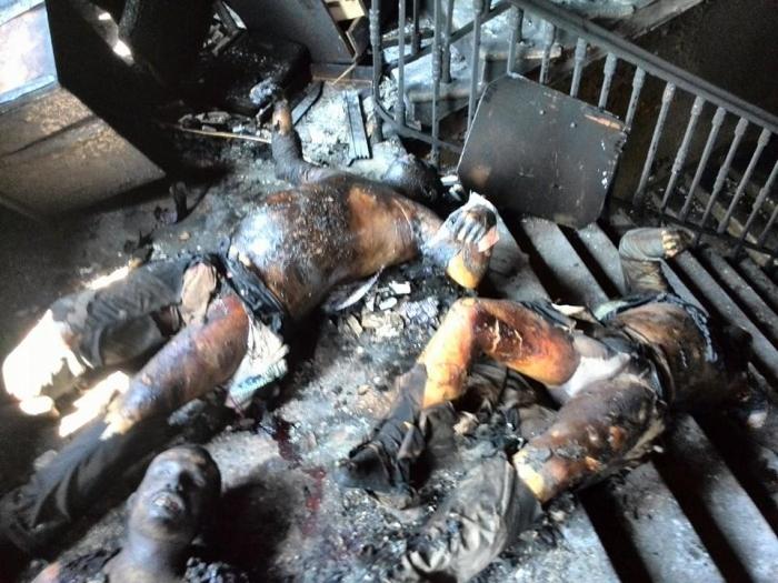Пожар и убийства в Доме Профсоюзов в Одессе (24 фото + видео)