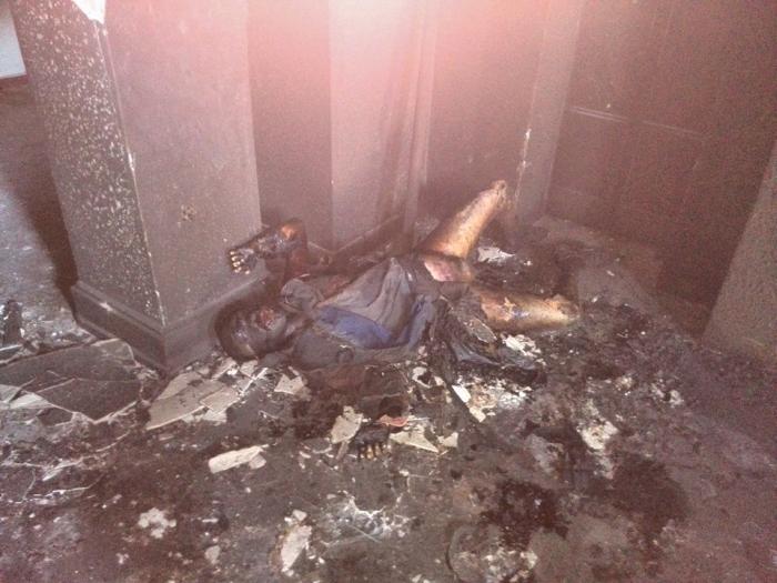 видео о пожаре в одессе