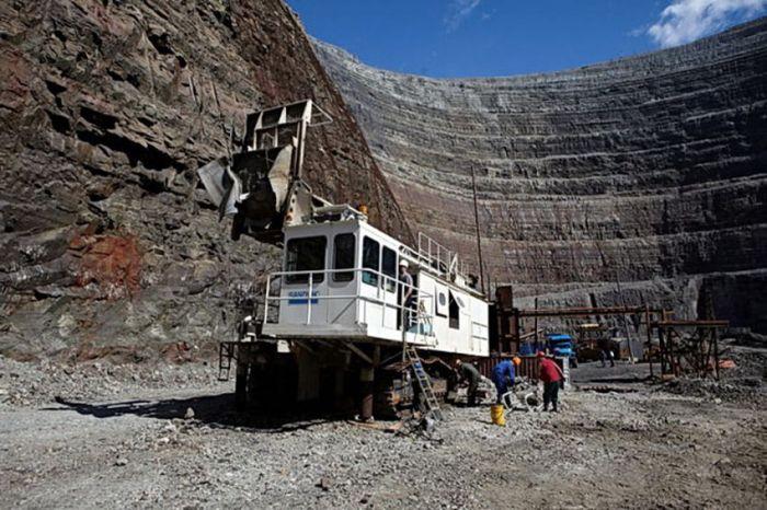 Добыча алмазов в России (20 фото)