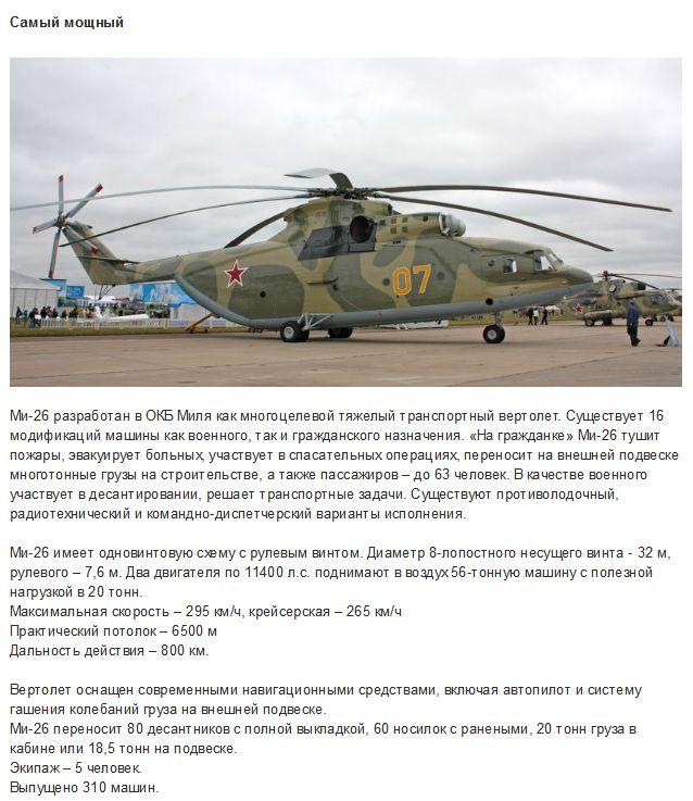 Топ-5 лучших в мире военных вертолетов (5 фото)