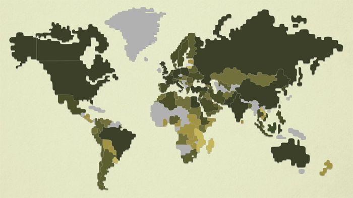 Военная мощь разных стран мира (3 фото)