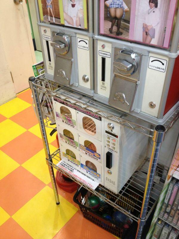 Необычные японские автоматы (5 фото)