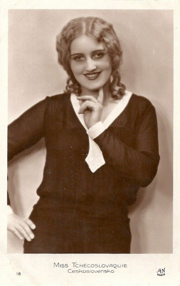 Участницы конкурса красоты Мисс Европа 1930 (21 фото)
