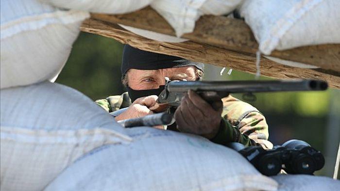 Оружие украинских повстанцев (9 фото)