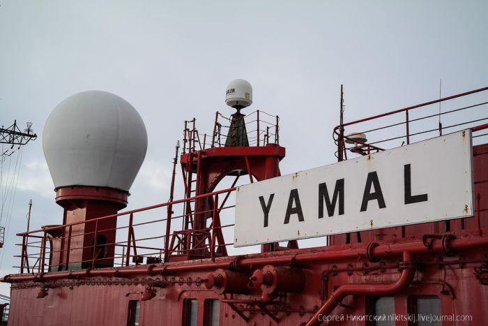 Системы связи на ледоколе в Арктике (19 фото)