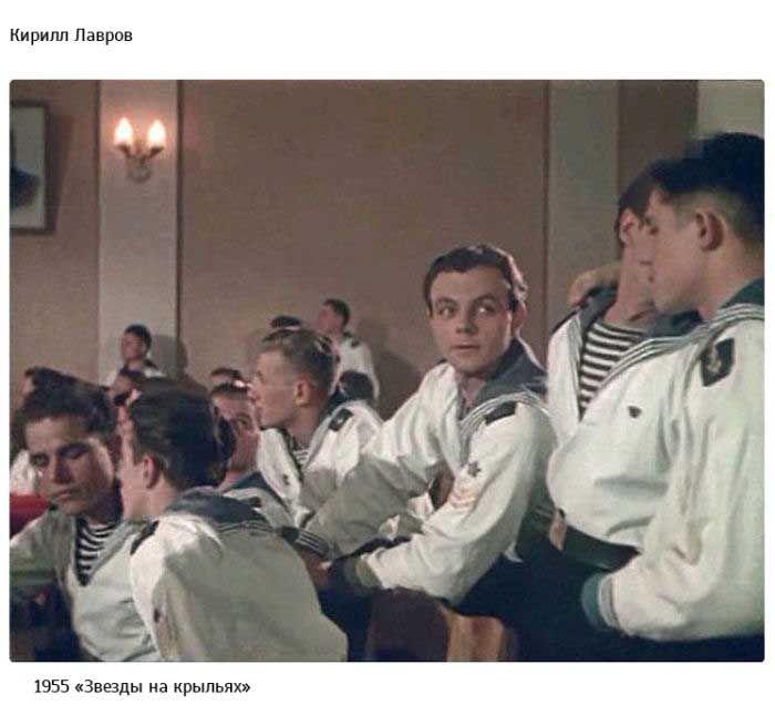 Первые роли в кино известных советских актеров (67 фото)