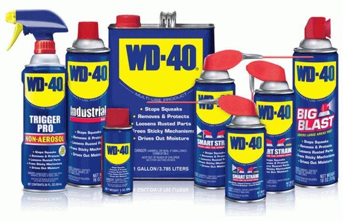 Самые необычные способы использования WD-40 (13 фото)