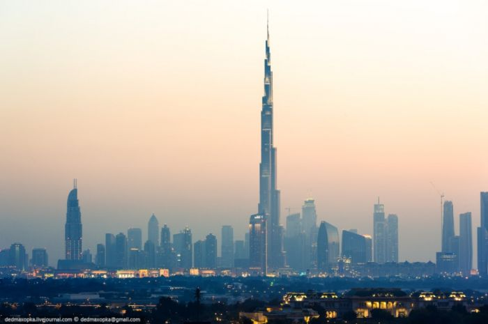 Удивительные панорамы Дубая (60 фото)