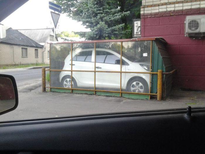 """Креативный """"гараж"""" 100-го уровня (2 фото)"""