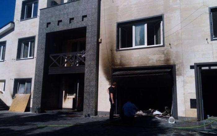 Дом кандидата в президенты Украины Олега Царёва сгорел дотла (6 фото)
