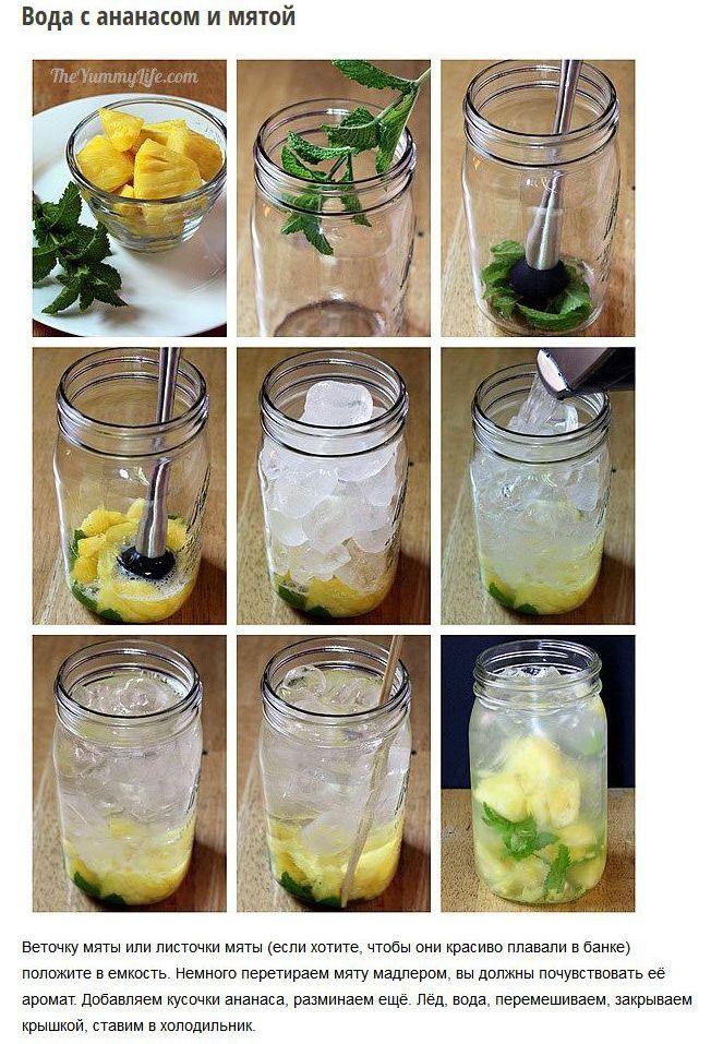 Рецепт приготовления вкусной и полезной воды (6 фото)