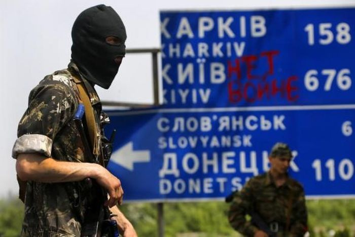 События на Востоке Украины без прикрас (38 фото)