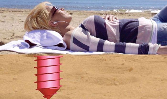Необычный пляжный девайс (5 фото)