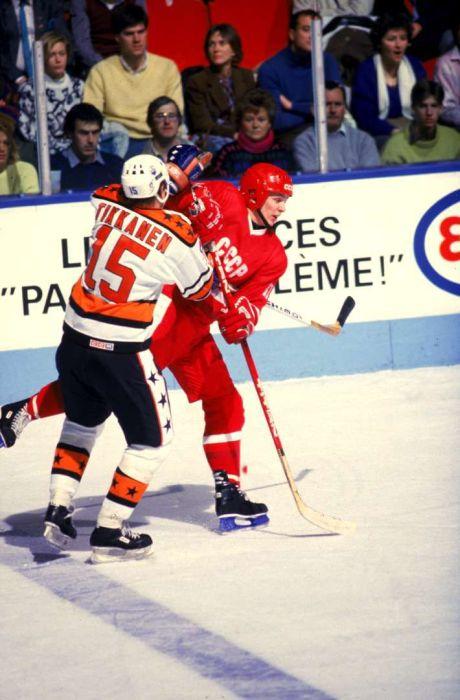 Хоккей во времена Советского Союза (62 фото)
