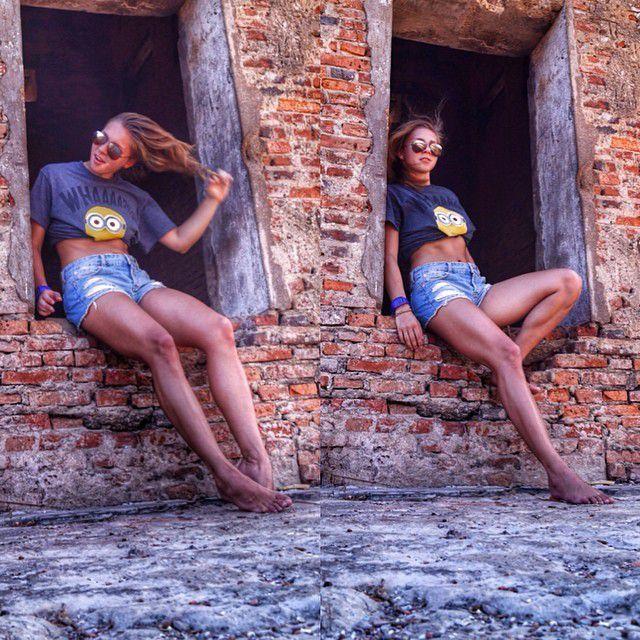 Елена Никитина на заслуженном отдыхе (35 фото)