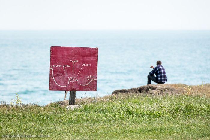 Непростой способ рыбной ловли в Крыму (18 фото)