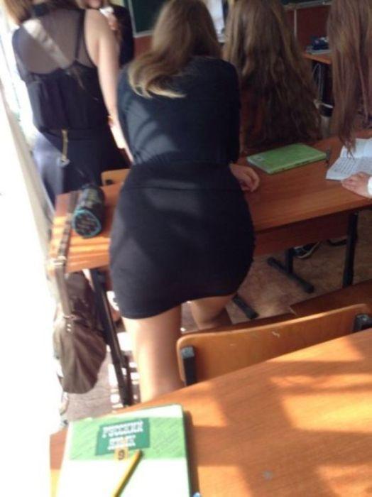 Современные школьницы (18 фото)