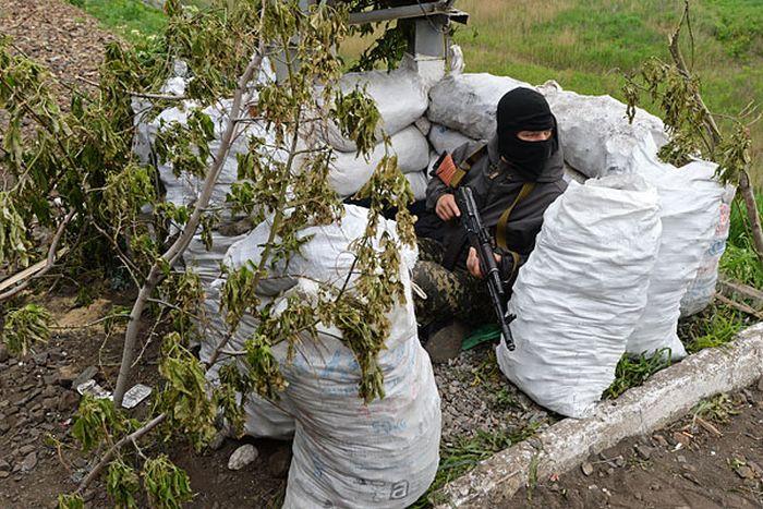 Обстановка в Славянске без прикрас (45 фото)
