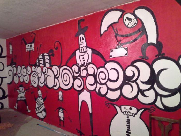Креативный ремонт гаража своими руками (22 фото)