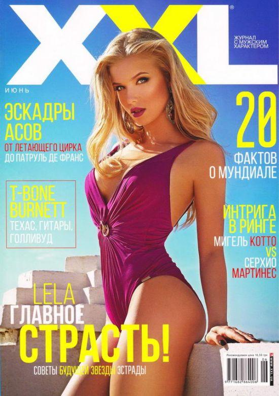 Откровенная фотосессия Ольги Третьяченко для журнала XXL (9 фото)